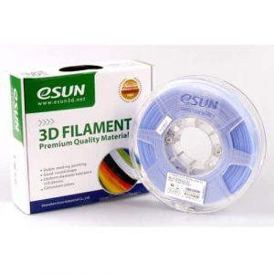 eSUN PLA CCT Blue Filament 1.75 mm 0.5Kg   Buy 3D Printer Filament