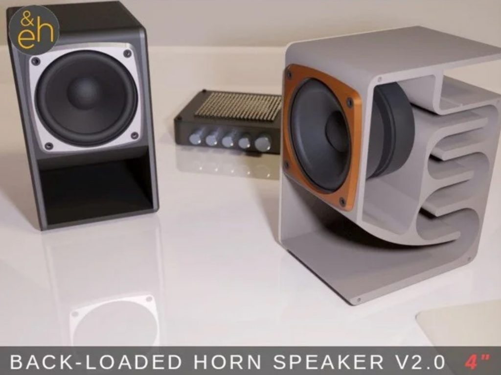 Back Loaded Horn Speaker