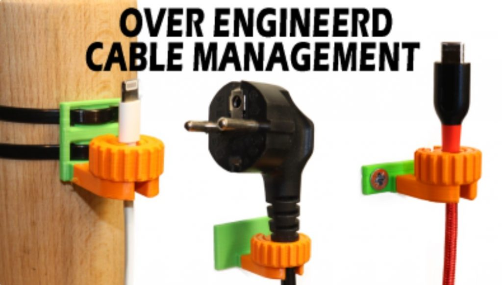 Cable Management Clips