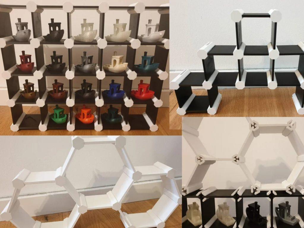 Customizable Mini Shelf System