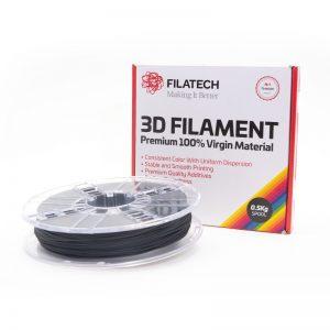 Buy Now FilaTech FilaFlexible40 TPE 40D Black Filament 0.5Kg 1.75mm |