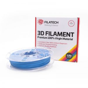 Buy now FilaTech FilaFlexible40 TPE 40D Blue Filament 0.5Kg 1.75mm