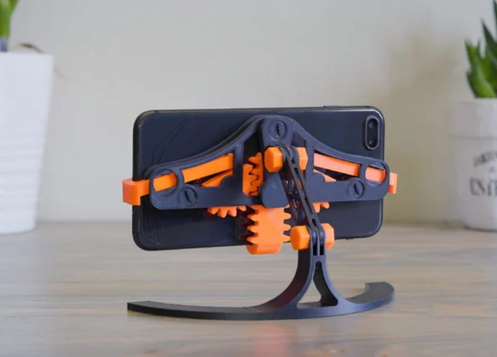Quick Grab Release Phone Stand