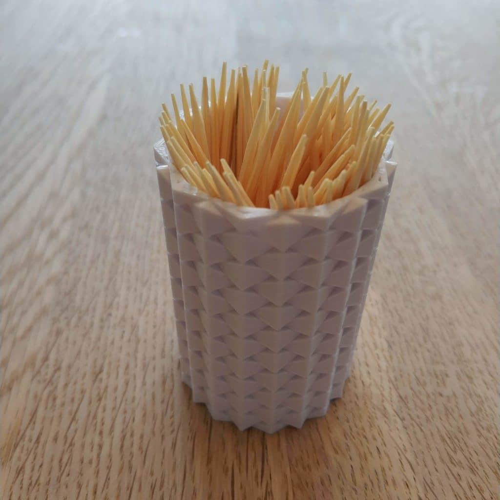 Toothpick Holder make with 3D Printer
